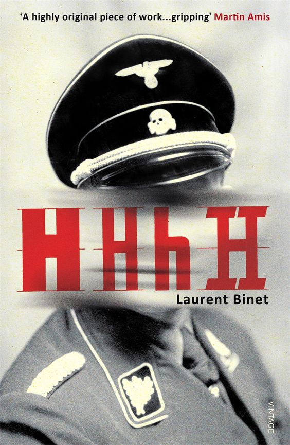 HHhH by Laurent Binet book
