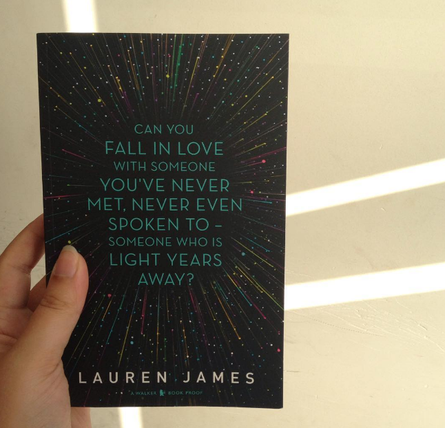 the loneliest girl in the universe lauren james arc cover