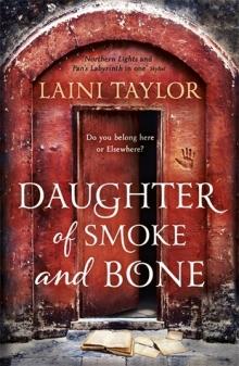 daughter of smoke and bone laini taylor